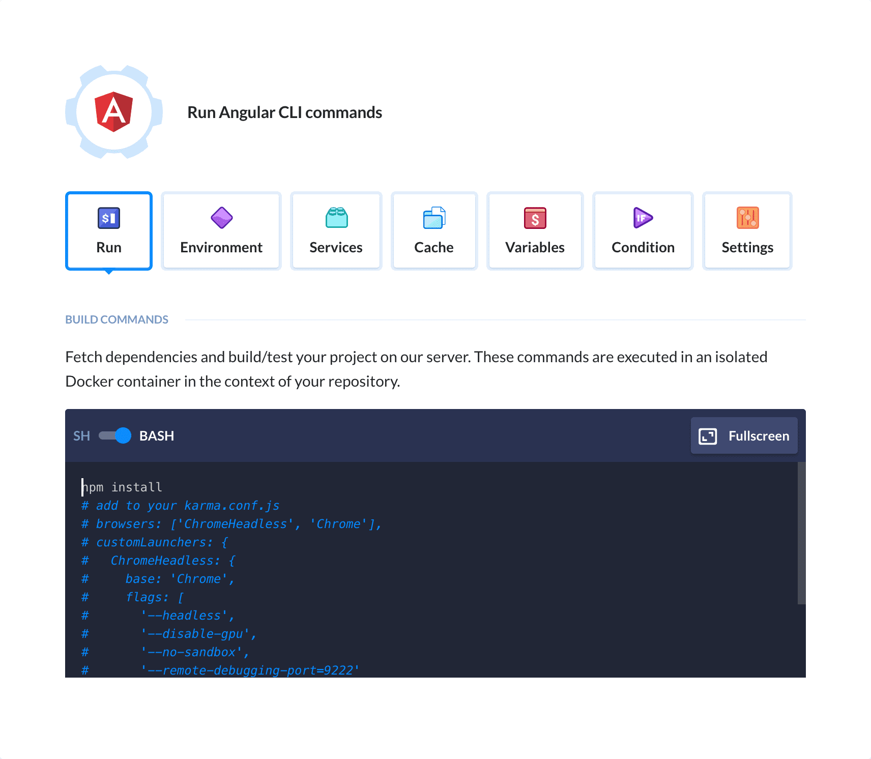 Angular CLI - Continuous Integration, Delivery, Deploy