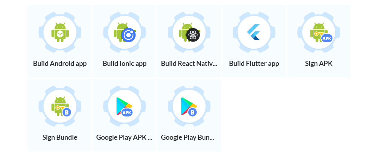 Android actions
