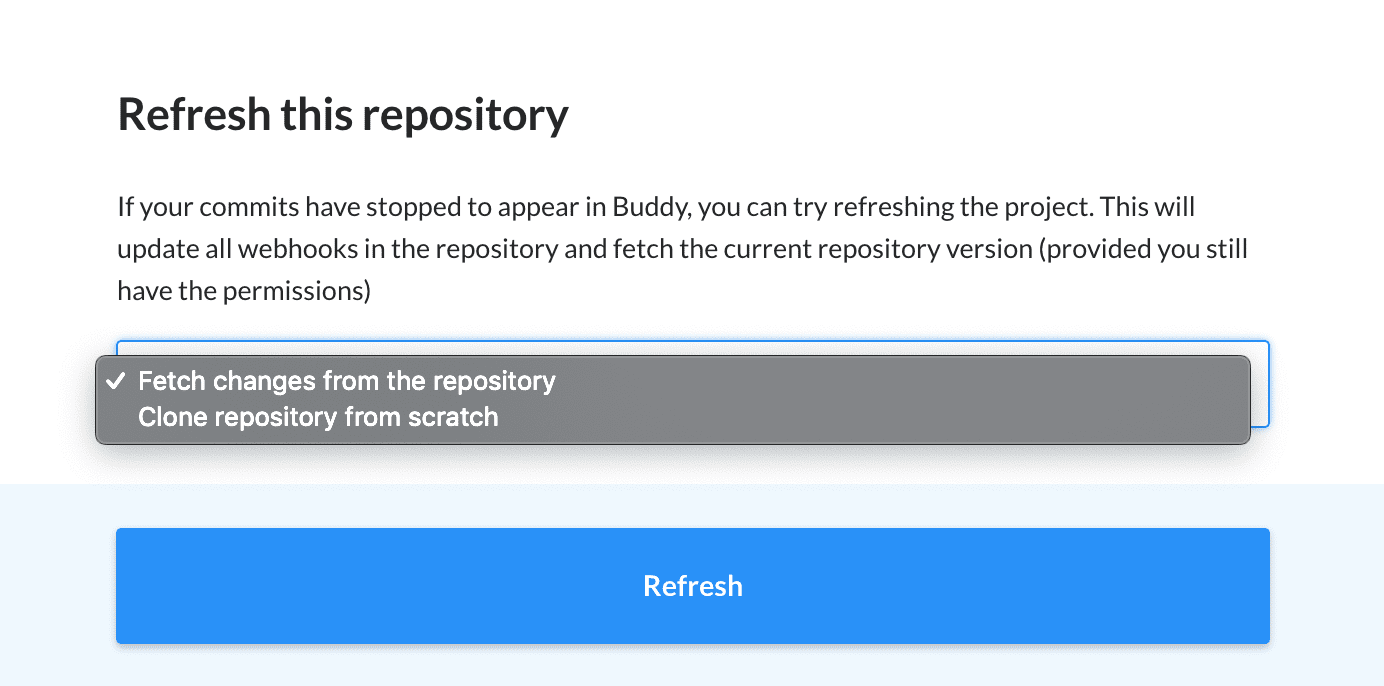 Refreshing repository
