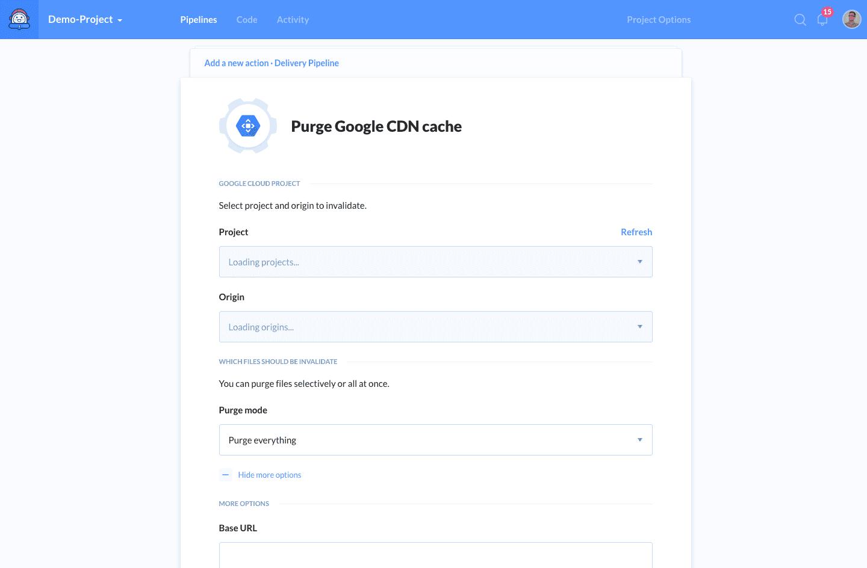 Google CDN details
