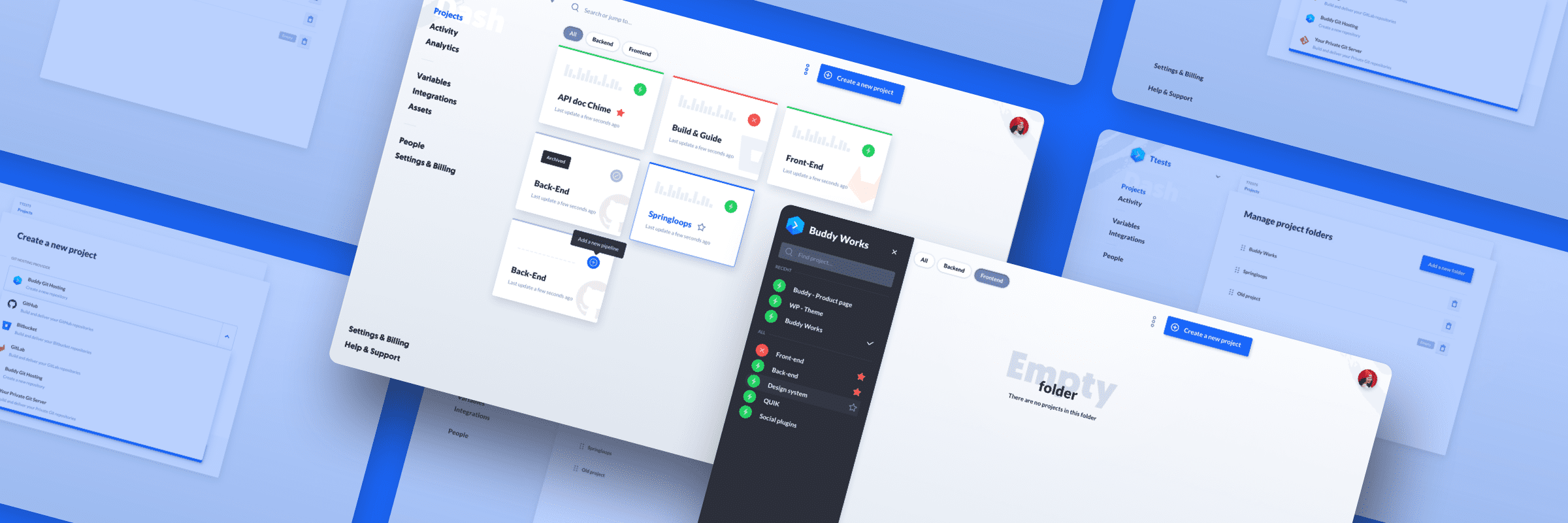 Buddy 2.0: New projects view, workspace navigation, and more 🔥