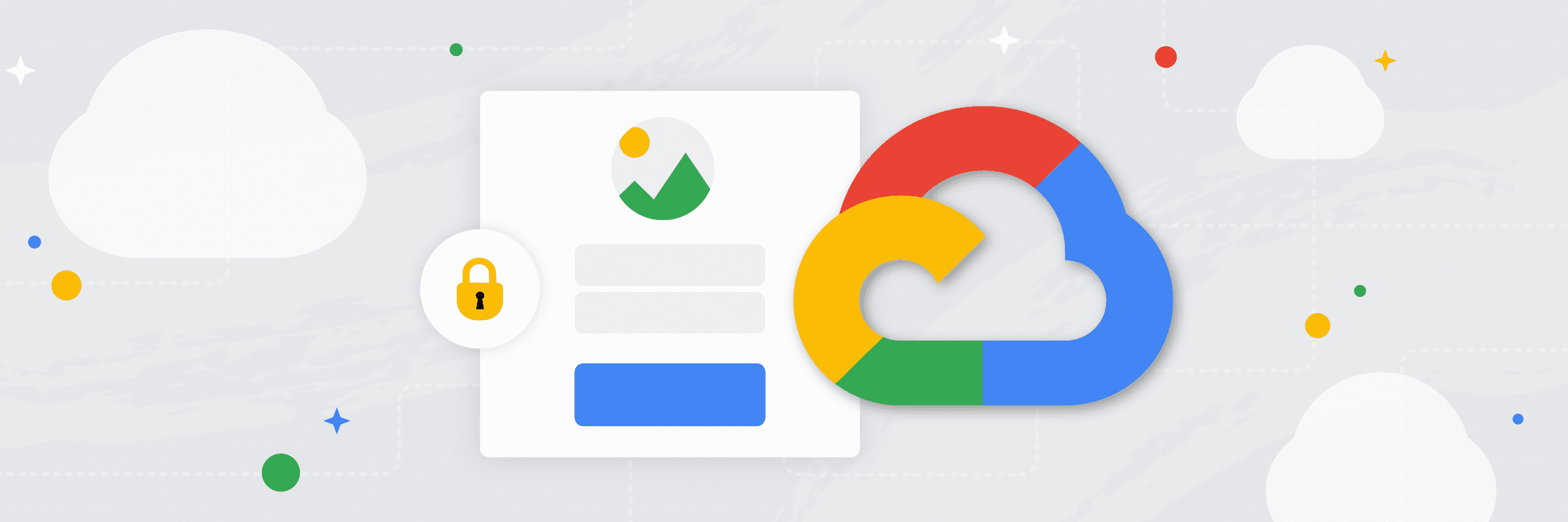 Service Account integration in Google Cloud actions