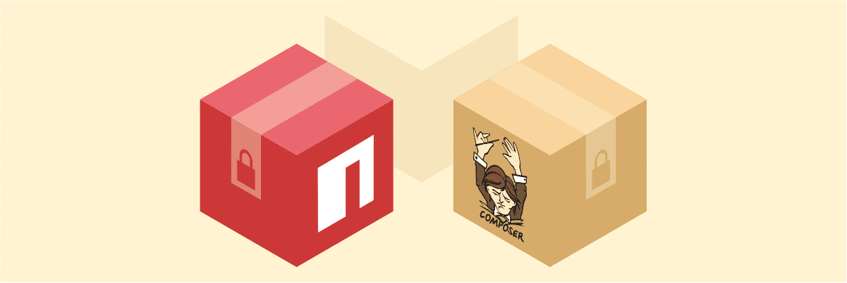 How to use private packages in npm and Composer