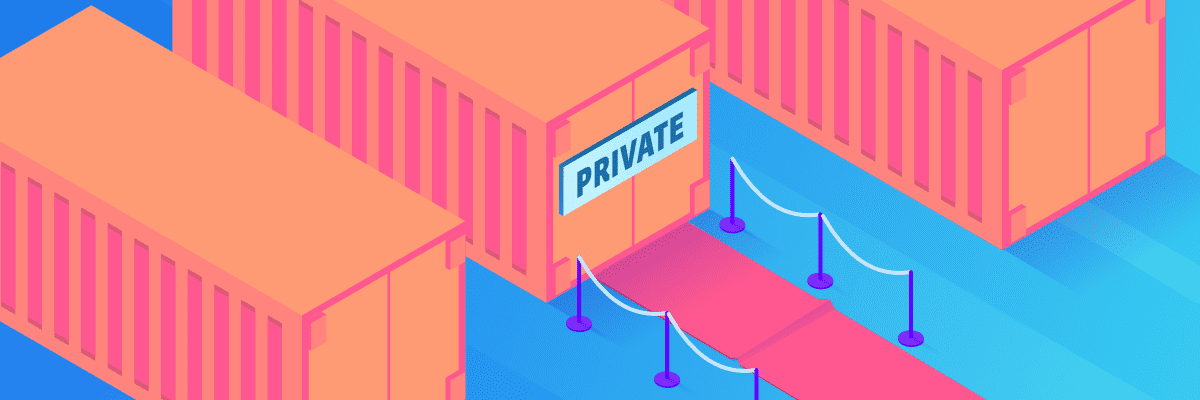 New feature: Private Docker images in builds