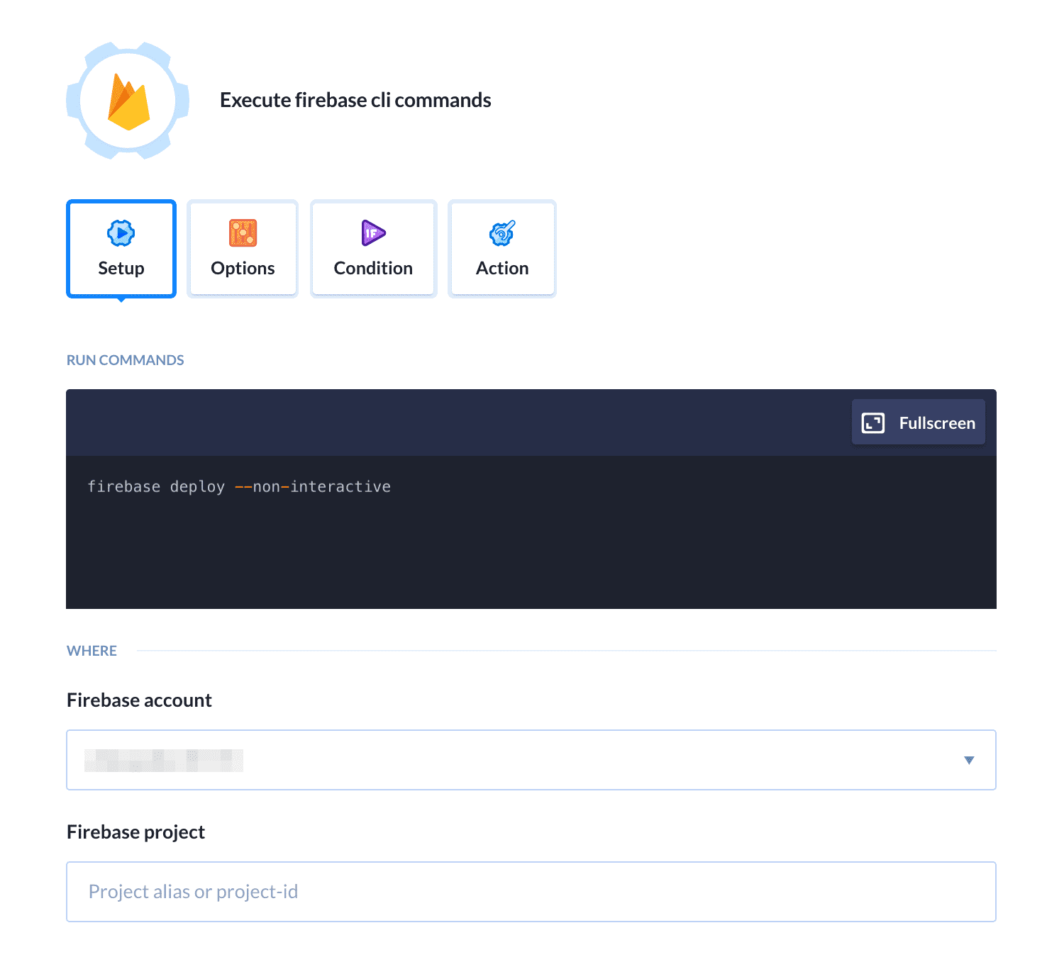 Firebase | Docs | Buddy: The DevOps Automation Platform