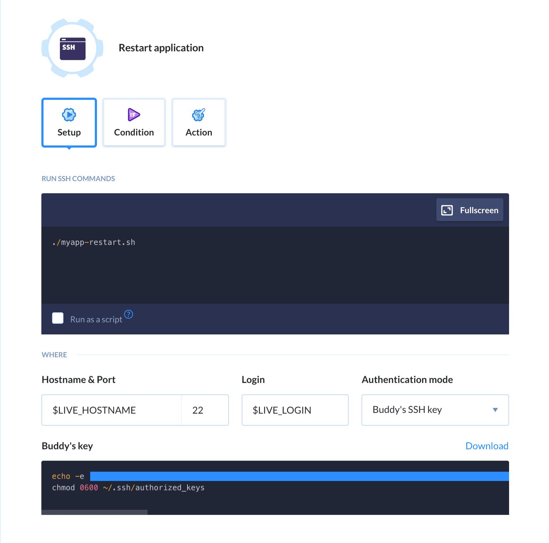 Ruby | Docs | Buddy: The DevOps Automation Platform