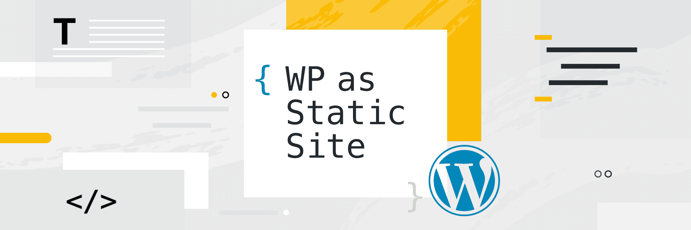 Building static WordPress with Static HTML Output and Buddy