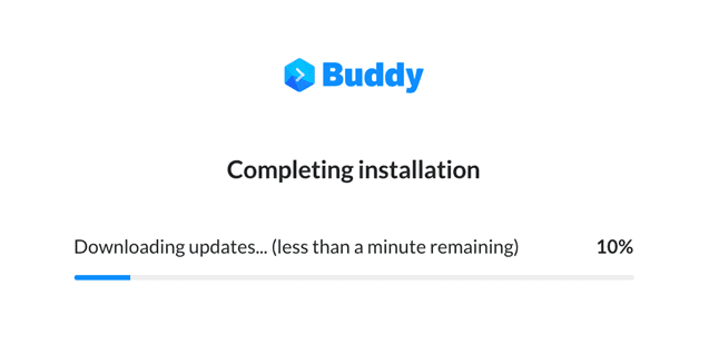 Updating Buddy
