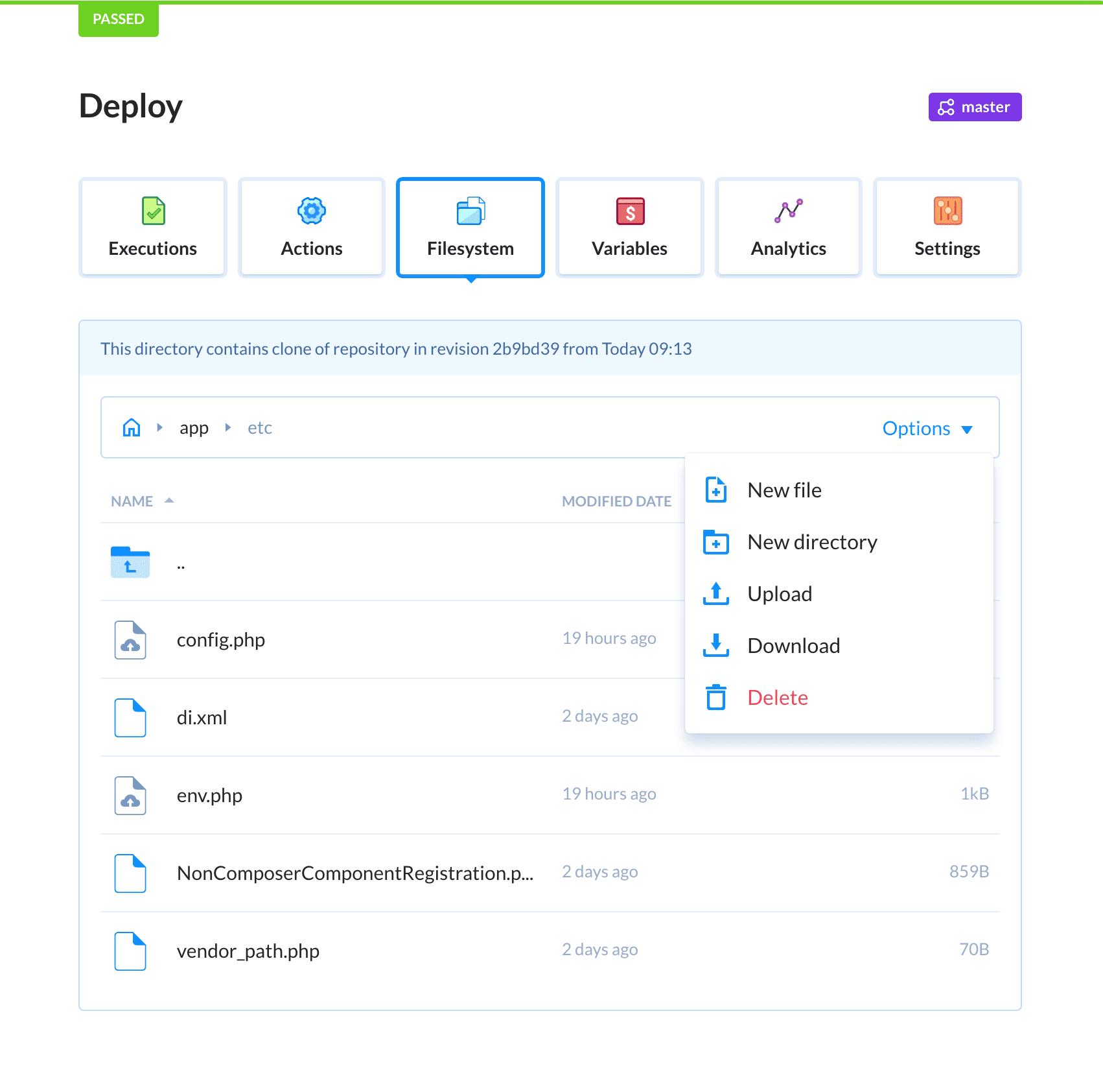Buddy filesystem