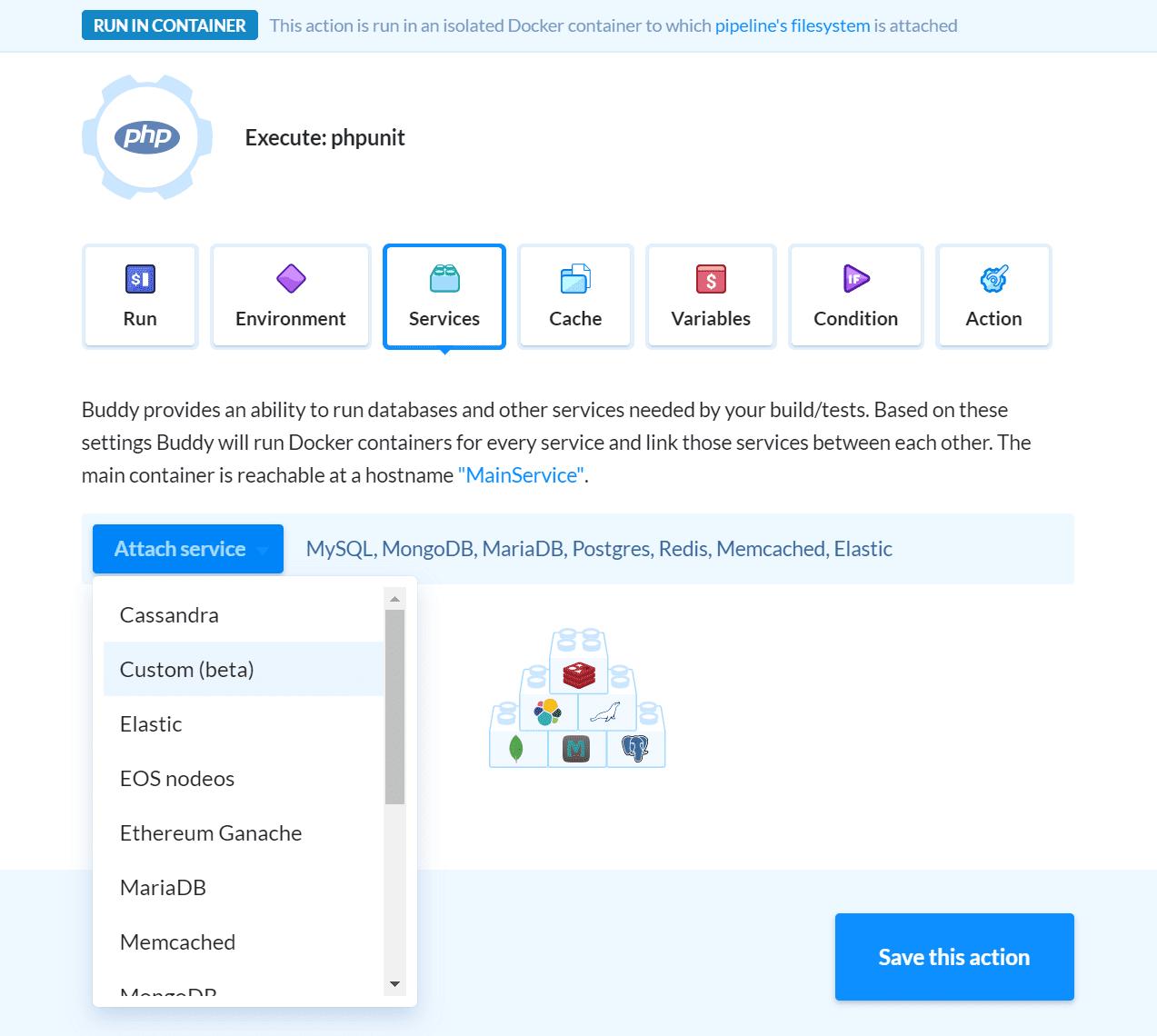 Adding custom service
