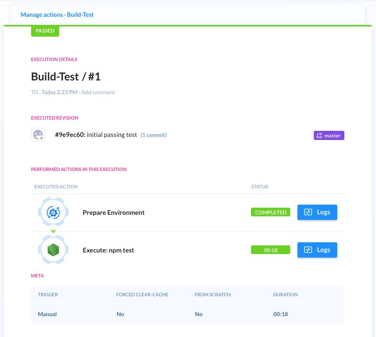 Build passed